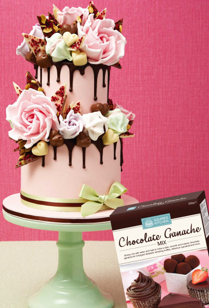 For the chocoholics - ganache