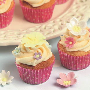 Summer Party Cupcakes