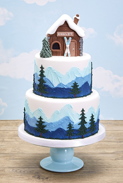 Christmas Cake Designs.Top Ten Christmas Cakes Sweet Talk The Squires Kitchen