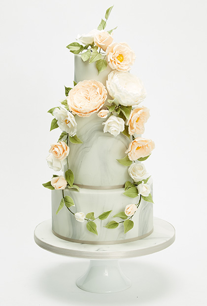 Cake by Wedding Cakes by Design
