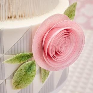 Wafer Paper Rose Tutorial