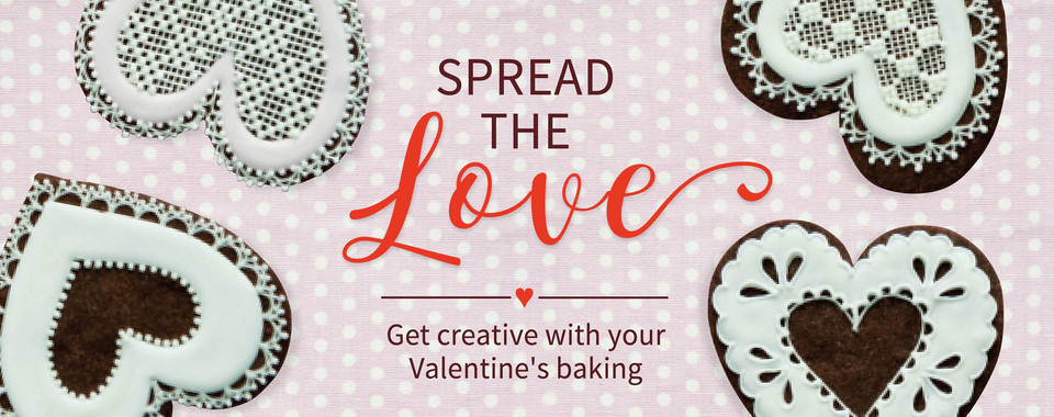 Ready for your Valentine's baking projects
