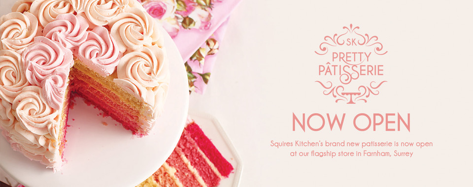 Squires Kitchen's brand new Pretty Patisserie is now open!