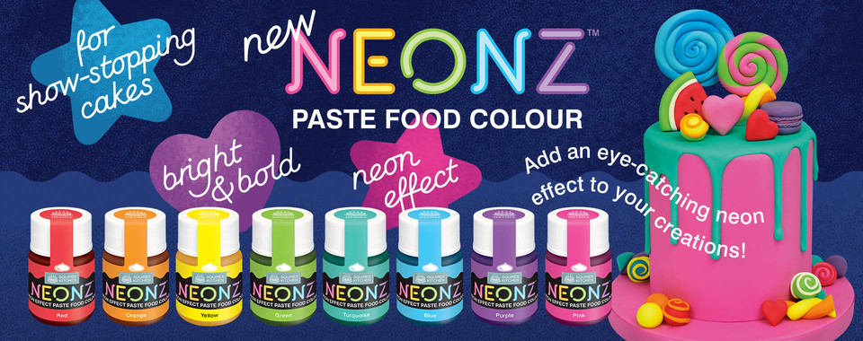 NEW NEONZ Paste Food Colours