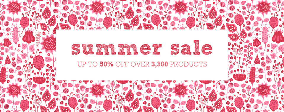 Our Summer Sale has started!